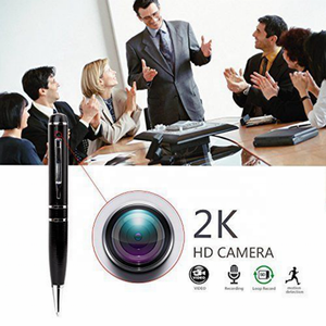 Spy Camera 1296P Verborgen Camera Pen Volledige Real 2K Lage Verlichting 1080P Pen Camera Multifunctionele Pen DVR cam