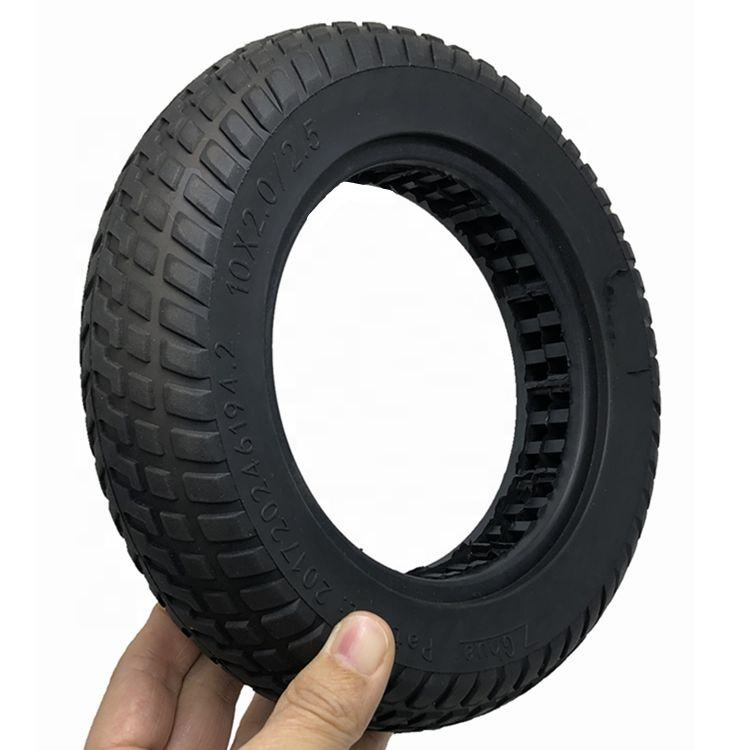 Big Size 10x2.0/2.5 inside hollowed solid tire 10 inch Scooter Tyre for Xiaomi Mijia M365 or pro Smart and Foldable Electric Sco