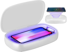 Bestseller in good price uvc led mobile phone wireless charging uv sterilizer box