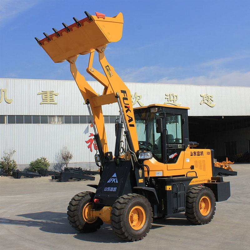 Foton Lovol 1.5 ton front mini loader ZL926 wheel loader hot for sell