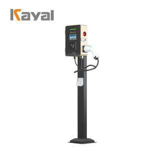 KAYAL High Quality ev Electric Vehicle 7KW Column Charging Station Charger for Electric Car