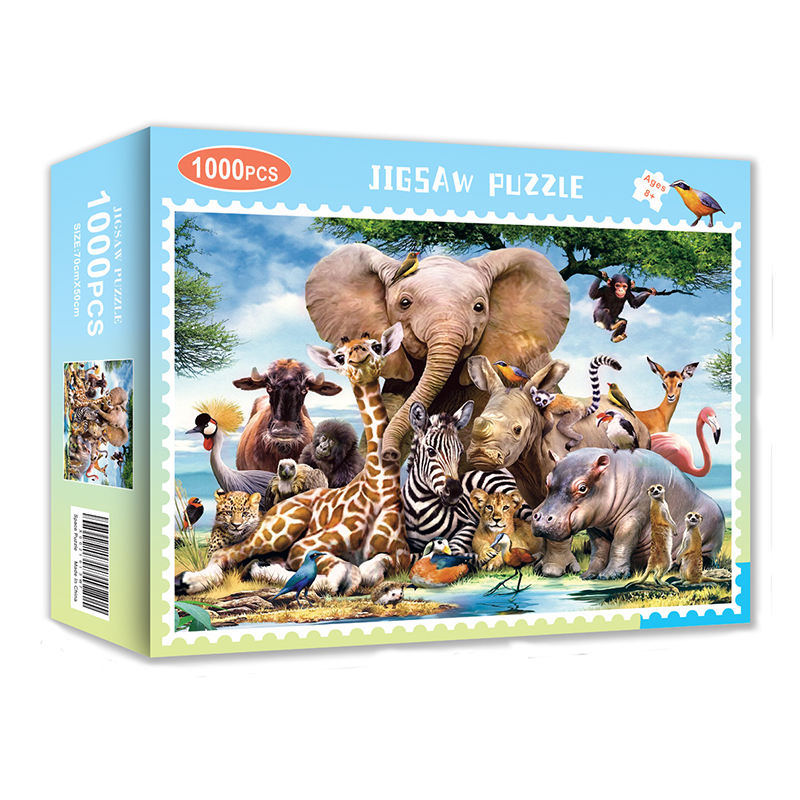 Spot Direct Adult And Children Creative Paper Puzzles 1000 Pieces Of Jigsaw Puzzle