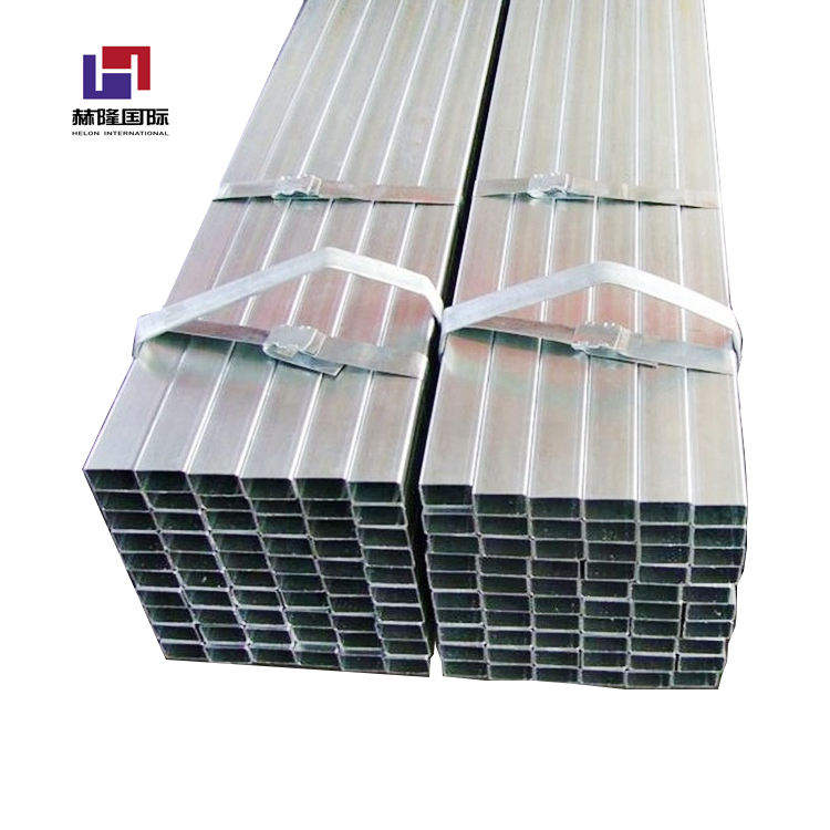 GI SHS and RHS hollow welded many specifications carbon galvanized steel pipes