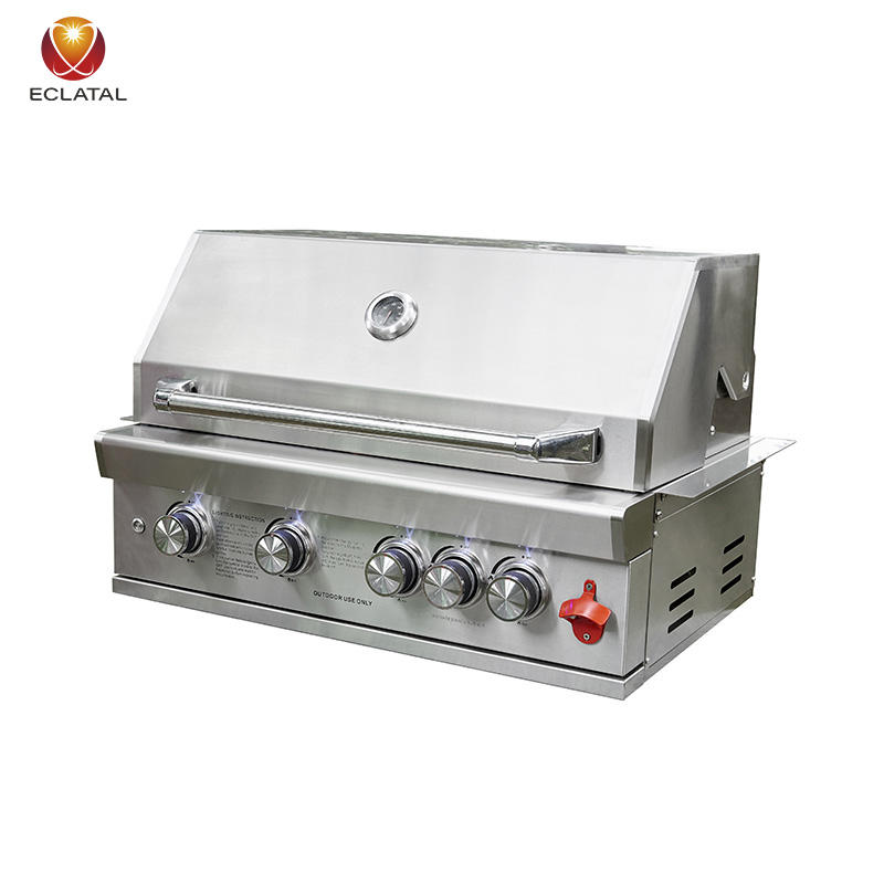 Family Household Commercial BBQ Built In Grill Outdoor Barbecue Gas And Charcoal Grills
