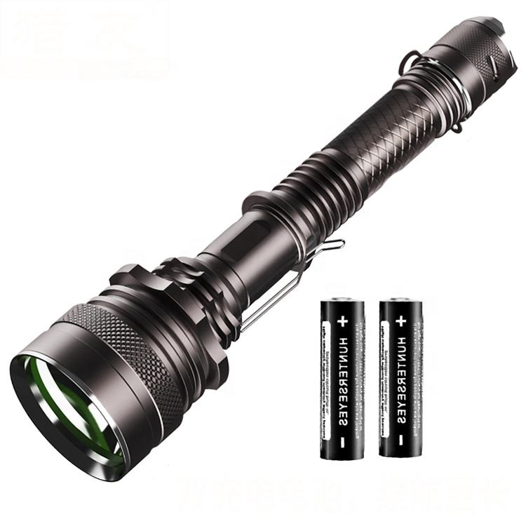 Super Bright Aluminum Alloy emergency Powerful 2 Battery Rechargeable cree torch T6 Led distance light Flashlight