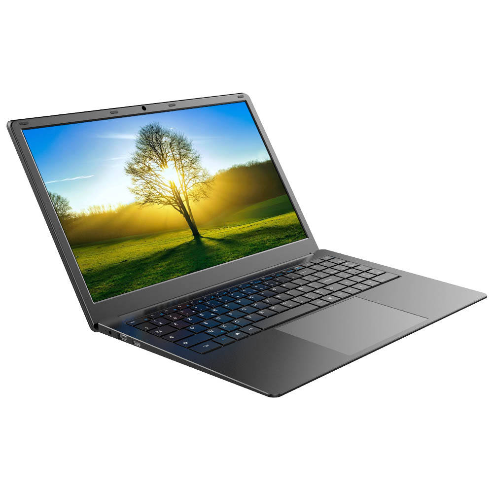 Satu Netbook 15.6 Inch Saku Laptop 8/256GB Windows 10 Quad Core dengan Backlit Keyboard Membangun Inframerah induksi