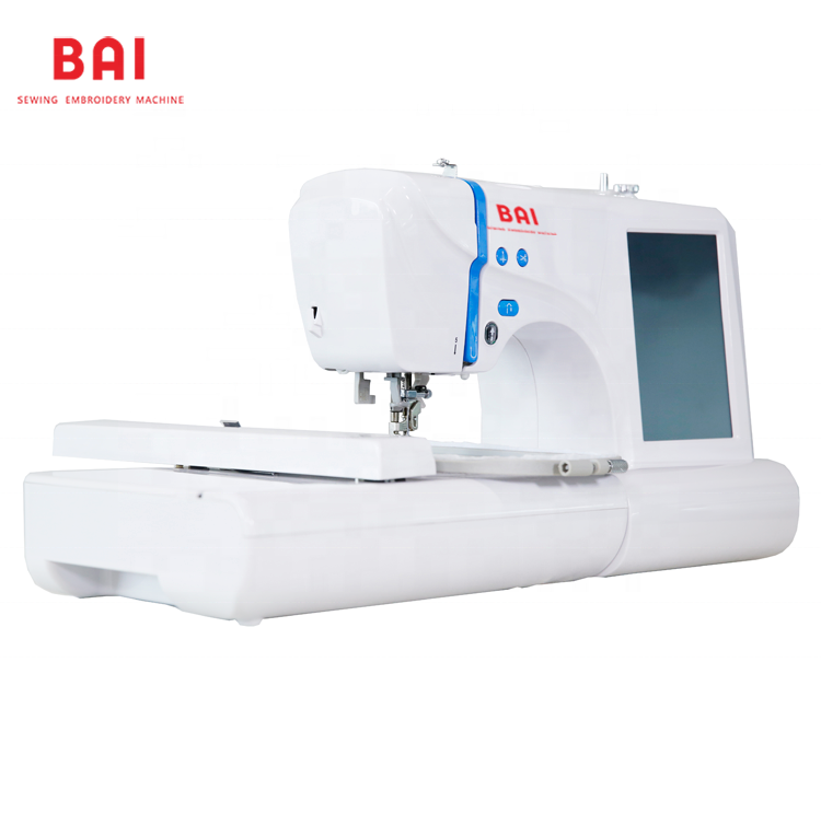 BAI Household mini computerized t-shirt like brother janome berinina singer embroidery sewing machine for family using
