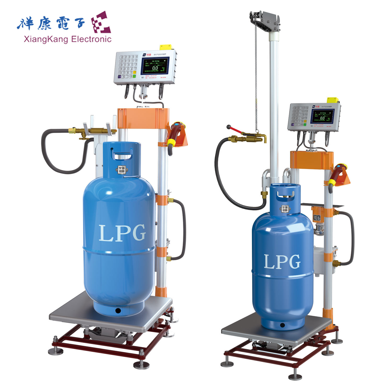 ATEX/ISO 9001 Certification submersible fuel pump lpg gas cylinder filling machines equipments