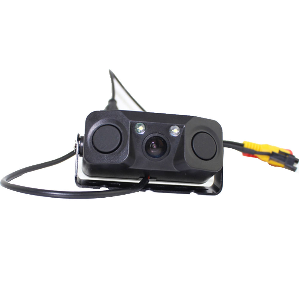 3 in 1 Auto Parktronic LED Car Parking sensor Rear View Camera Car Parking Radar Reverse in 1 Auto Parktronic Monitor Detector