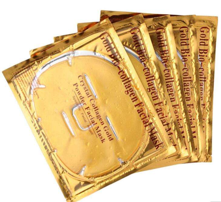 Wholesale price 24K golden collagen facial mask crystal collagen gold powder Anti-aging facial mask korea