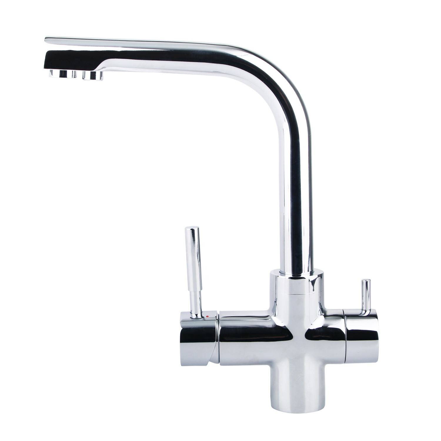 Luxury kitchen faucet for RO water and tap water