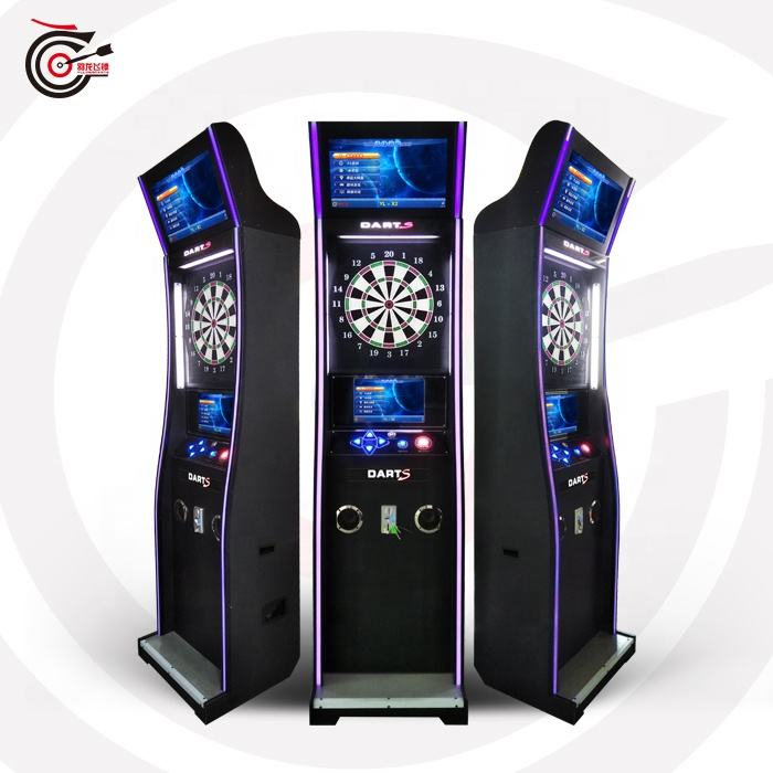 Entertainement 2020 professional games coin machine with soft tip dart