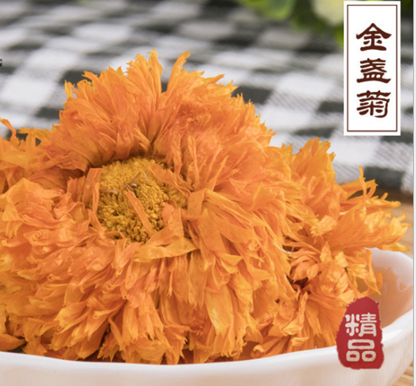 Dried calendula flowers tea / calendula officinalis