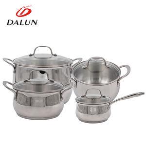 مفيد مطعم مجموعة ألعاب المطبخ الحساء الغذاء إناء/ قدر ووك سريع ساخنة عموم الحديد الطبخ وعاء