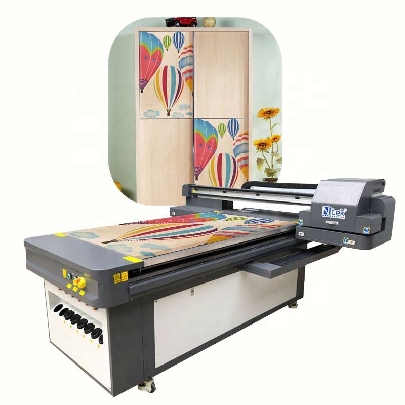 Small Digital UV Flatbed Printer Wood Printing Machine Factory Price for Sale