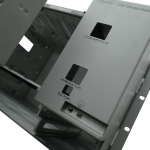 Custom metal enclosure aluminum sheet metal enclosure anodised aluminum enclosures