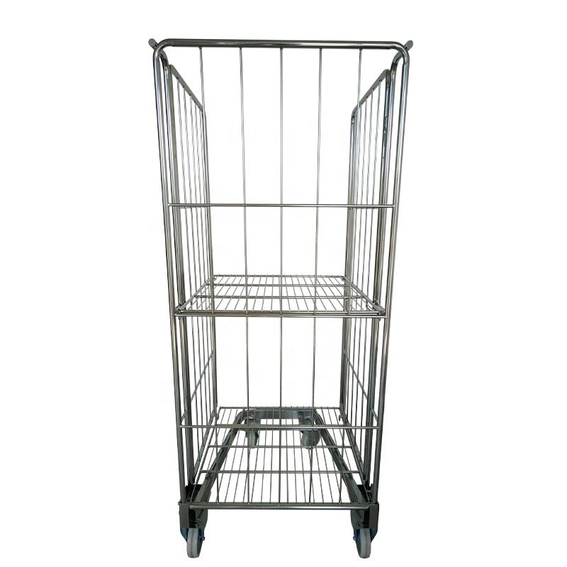 Supermarket Steel Roll Container