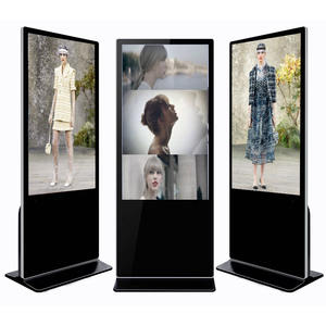 China 55inch floor stand advertising player Indoor Digital Signage Touch Screen Kiosk