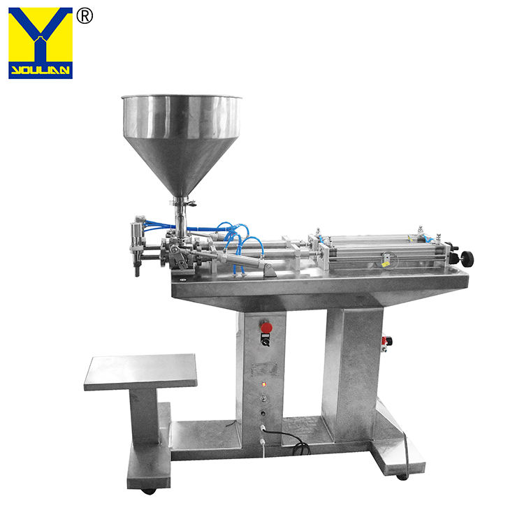 G2LGD Semi-automatic Double Heads Paste Filling Machine(floor type)