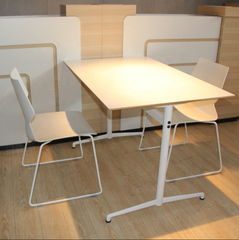 high quality wooden rectangular tables and chairs for library