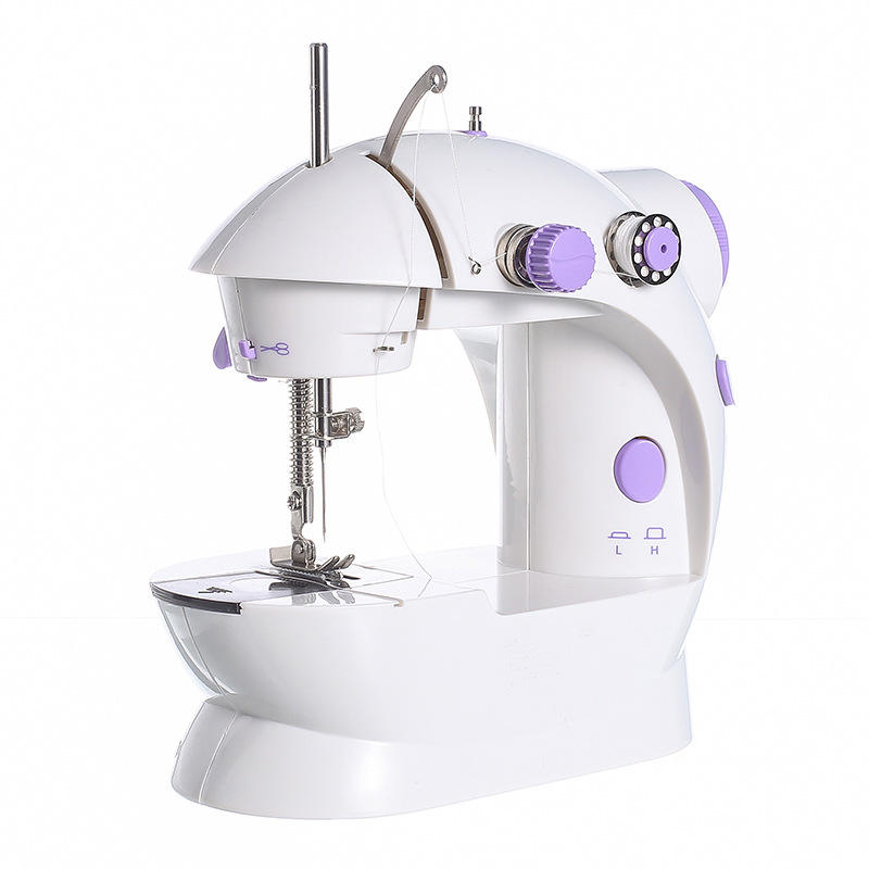 OEM Customized Household Electric Mini Portable Electric Crafting Mending Sewing Machine with Light