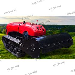 automatic remote control trench,plough, mow, ridge, multi-function agricultural machine