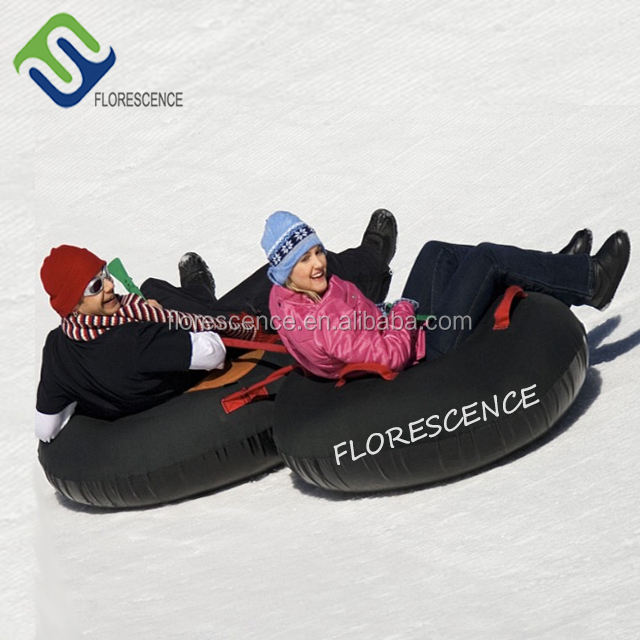 Top quality 80cm inflatable towable snow tube for adults