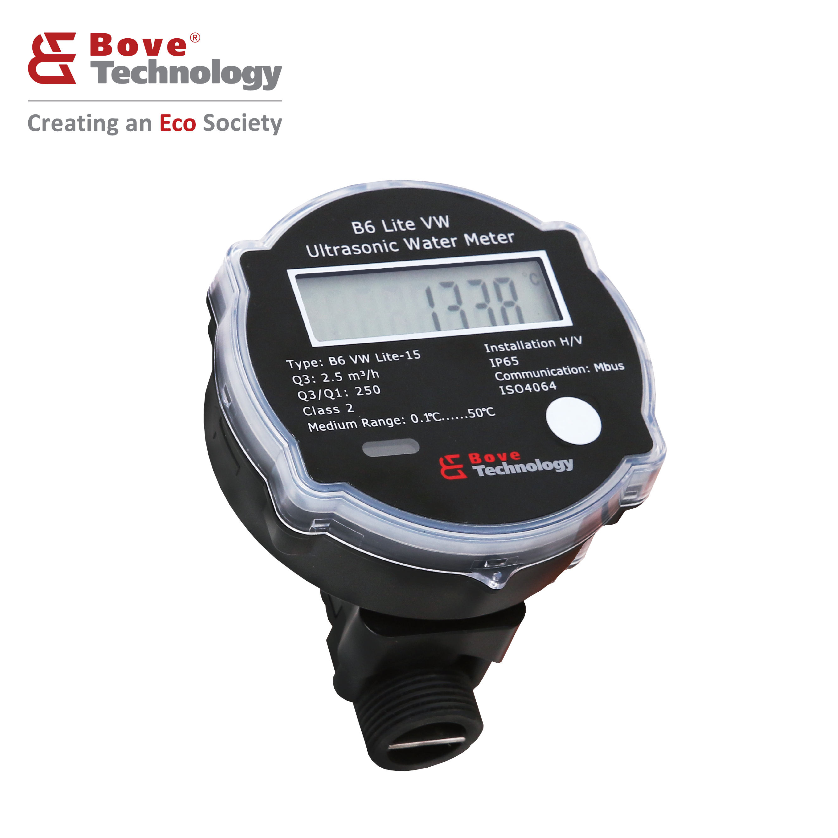 B6 Lite VW AMR Ultrasonic Smart Digital Ultrasonic Water Meter