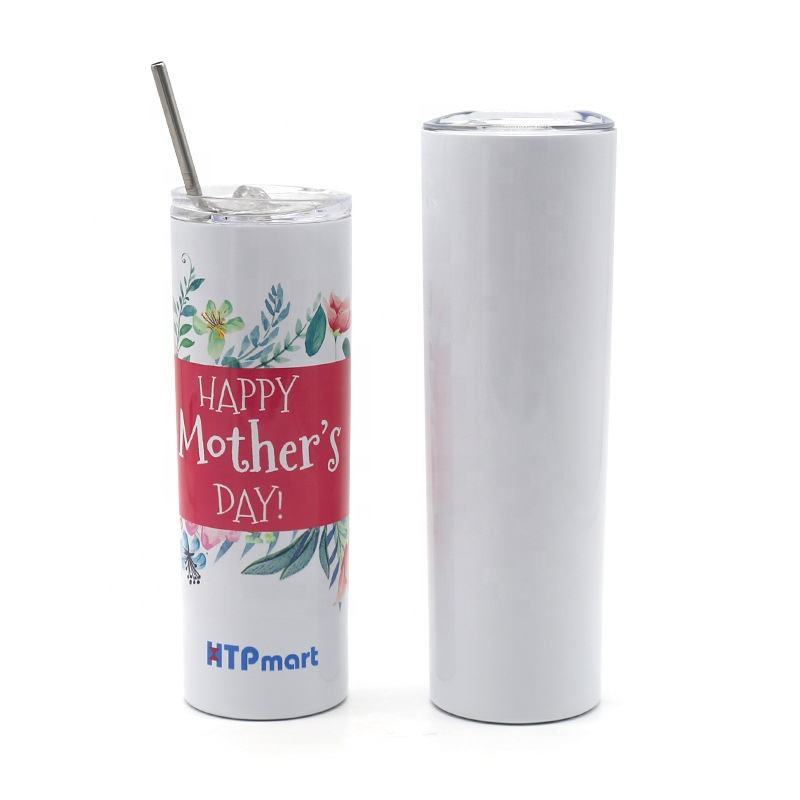 Portable Bottle Ice Cup dye Sublimation Blanks Cute Bottles Skinny Tumbler Sublimation Tumblers Water Bottle Logo Custom