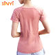 Dry Fit Women Wholesale Gym Clothing Yoga Wear Fitness Sports Active T Shirt Top