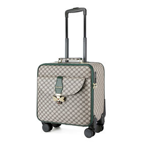 Femmes mode PU bagages VALISE trolley cabine