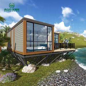 Nieuwe Luxe Strand Moderne Prefab Huis Villa Container