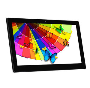 21 Inch 21.5 Inch 1080P Full Hd Scherm Rockchip 2 Gb Ram Wall Mount RJ45 Poe Android Tablet