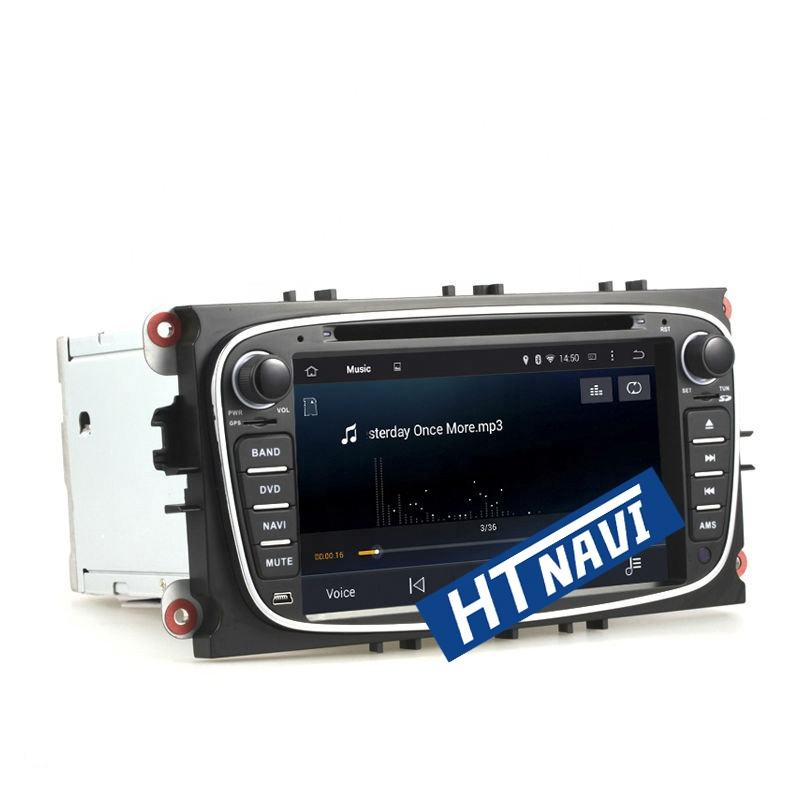 HTNAVI Auto Stereo Android 7.1 quad Core 2din 7 ''auto dvd player Für/Ford Focus 2010 2 + 16G mit gps navigation