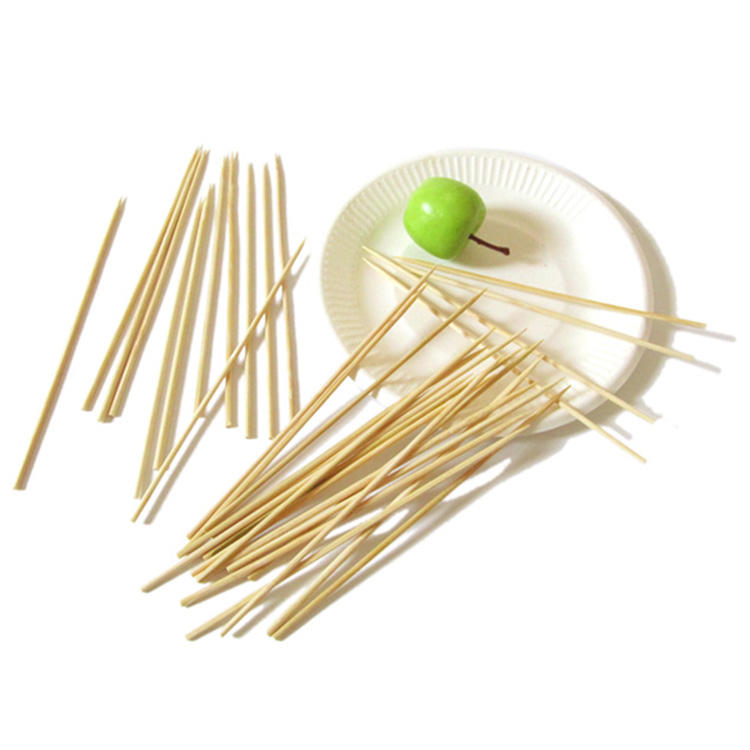 300mm round strong smooth bamboo skewer