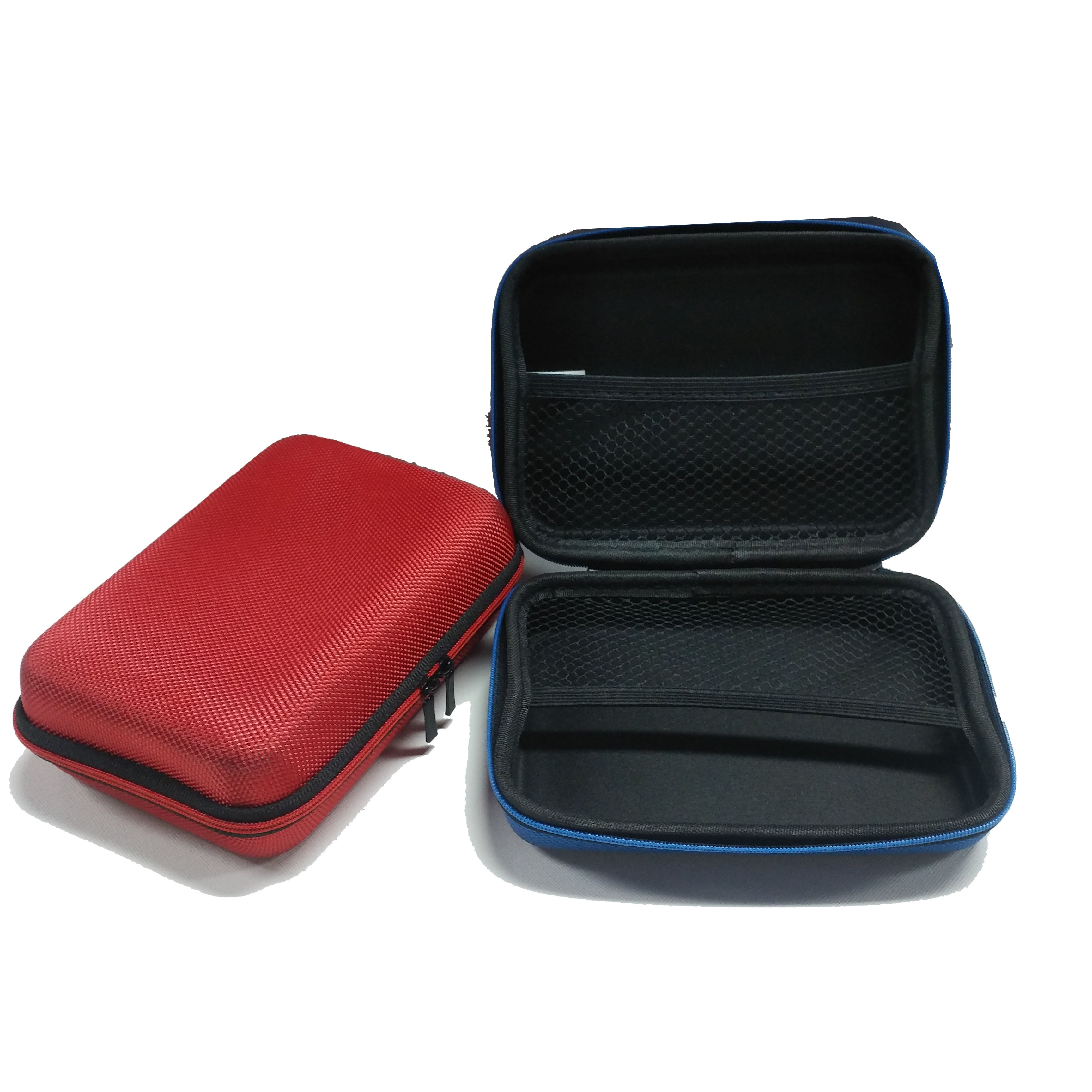 Colorful customized EVA carry case for small electronic products , EVA storage bag,first aid kit EVA box in stock