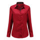 New style fashion ladies office clothes solid color business wear women formal blouse shirt