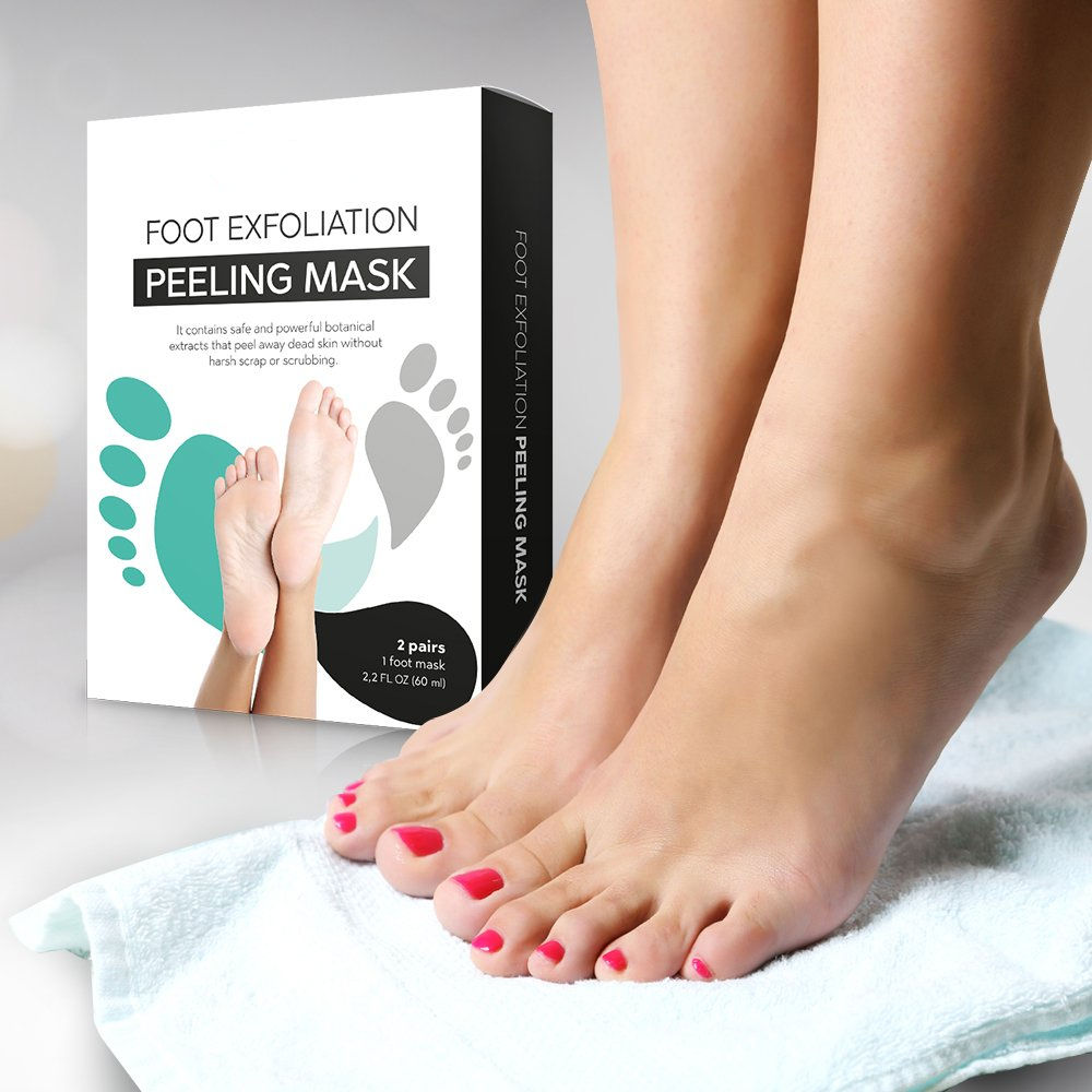 OEM Exfoliating Foot Peel Mask For Soft, Smooth Feet- Peeling Away Calluses & Dead Skin cells