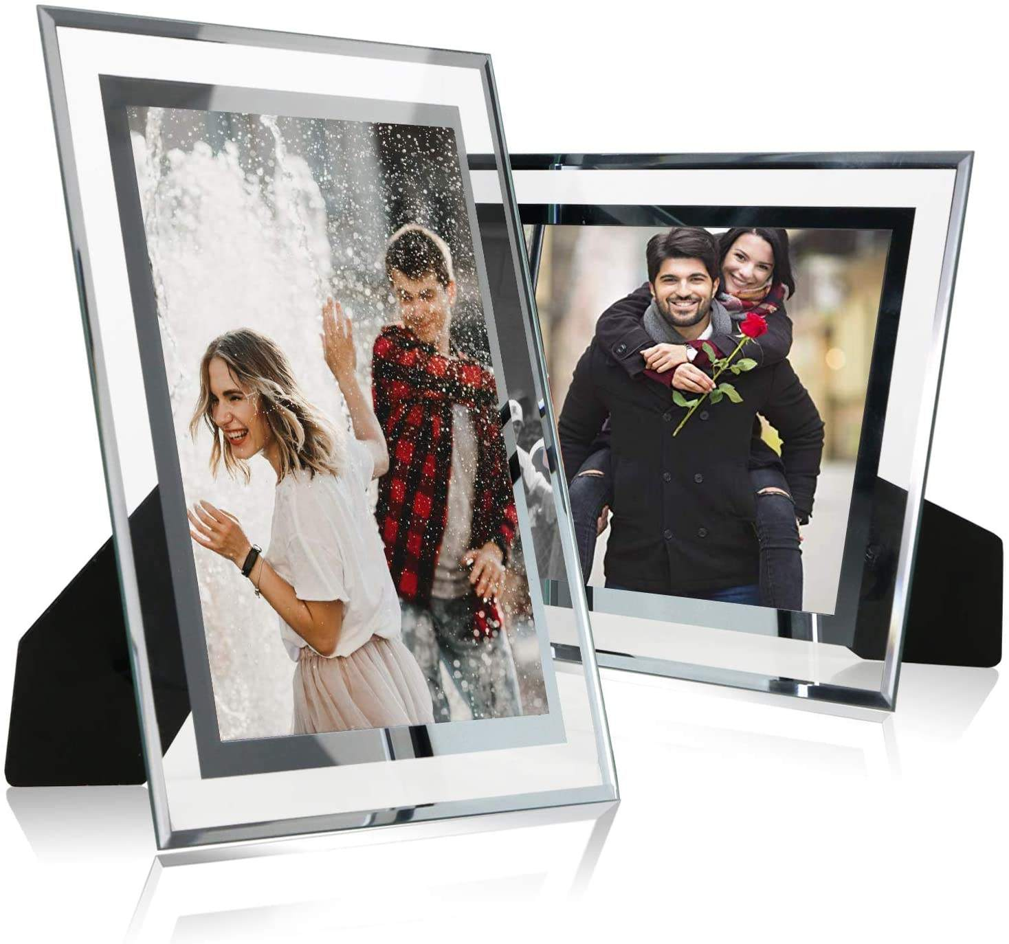 Groothandel Uitstekende Kwaliteit <span class=keywords><strong>4X6</strong></span> 5X7 Inch <span class=keywords><strong>Acryl</strong></span> Fotolijst Clear Frame Glazen Tafel Foto Frame Voor home Decor