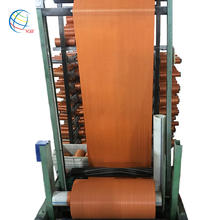 Low Price Orange Color PP Cloth Woven Fabric Roll 25kg Bags of Rafia for Sugar Packaging Beans Rice Maize Coffee Feed