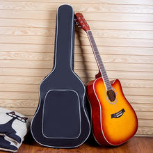 Music instrument accessories Manufacturer direct selling  41-inch folk bass guitar plus cotton thickened  guitar bag