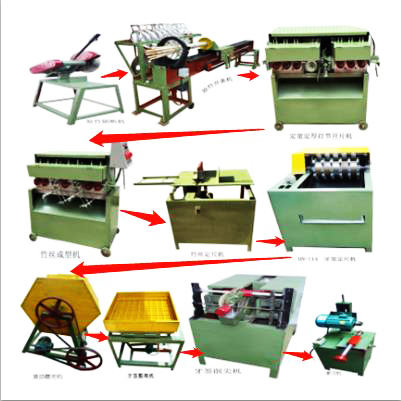 Raw Material Bamboo Wood Tooth Picker Toothpick Stick Pick Making Machine