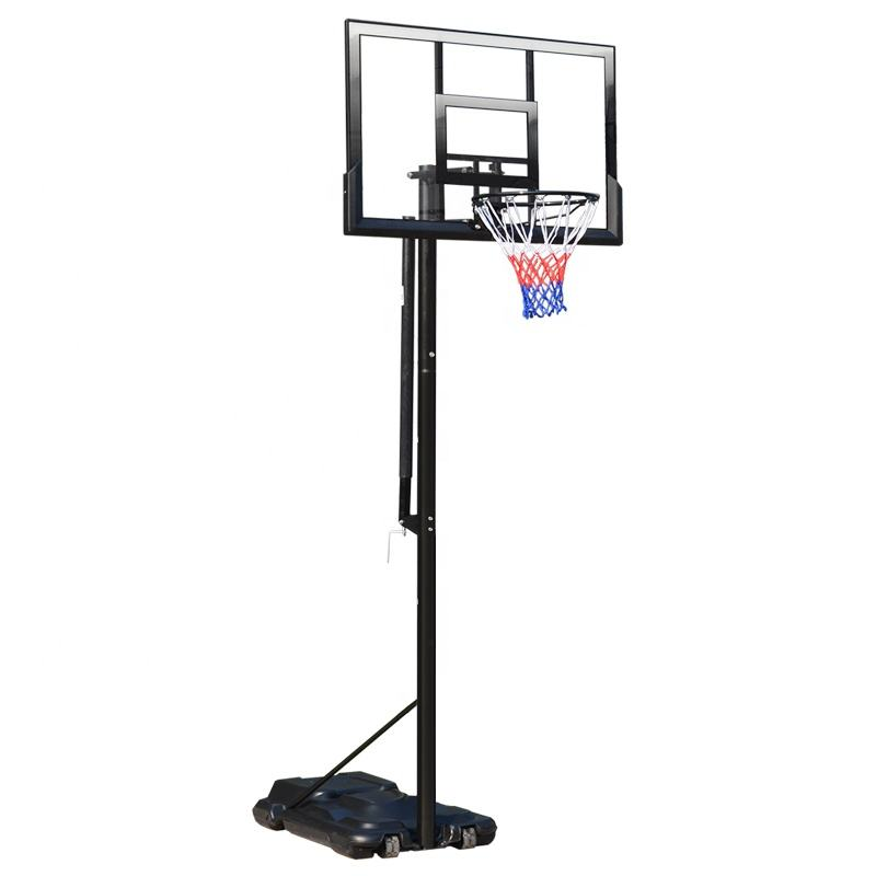 Standard Size Portable Removable Adjustable Height Basketball Hoop stands for sale