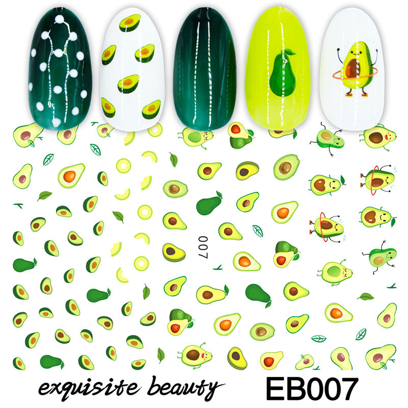 POUBELLE Fabricants Chinois Ongles Gel Autocollant 3D Nail Art