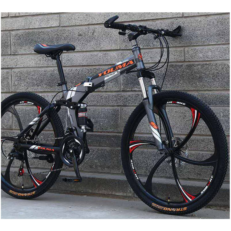 21 speed folding mountain bike mtb bicycle for men /China steel mountain bike/26 inch mountain bike