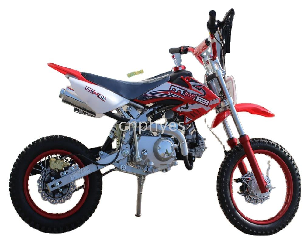 Hight Quality China adventure chopper 110cc electric start & kick start dirt bike 125cc