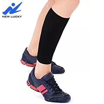 Newlucky 2020 Copper Infused Shin Support Calf Compression Sleeve