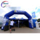 Custom fully printed Blue Inflatable decorations arch for advertising