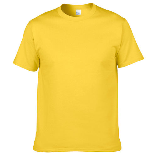 Blank O-Neck Short Sleeve Cotton T shirt for Men Custom Design Clothing Manufacturer