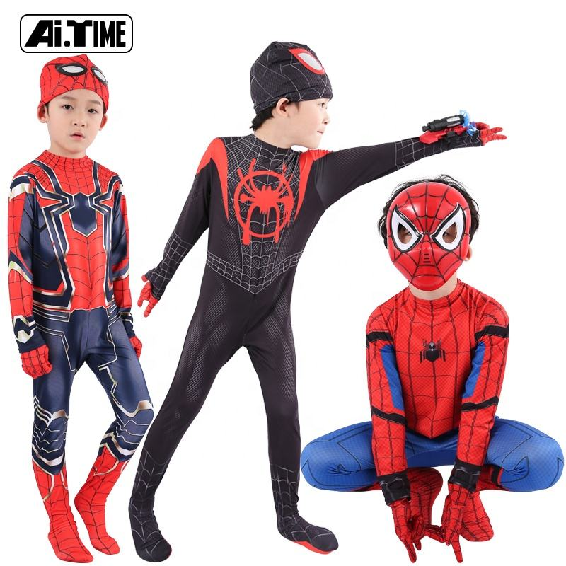 Gros Enfants Vêtements de Performance Halloween Carnaval Fête Cosplay <span class=keywords><strong>Costumes</strong></span> Manches Longues Combinaisons Enfants Collants